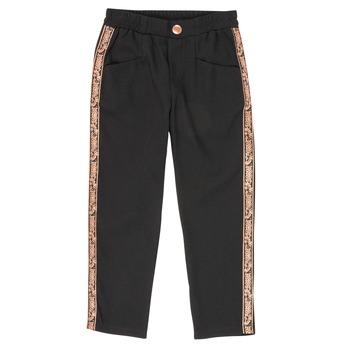 Odjeća Djevojčica Hlače s pet džepova Ikks XR22012 Crna