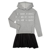 Odjeća Djevojčica Kratke haljine Ikks XR30112 Siva
