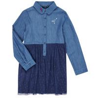 Odjeća Djevojčica Kratke haljine Ikks XR30122 Blue