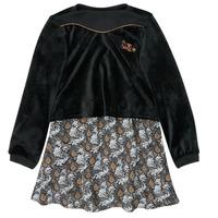 Odjeća Djevojčica Kratke haljine Ikks XR30162 Crna