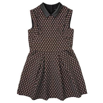Odjeća Djevojčica Kratke haljine Ikks XR30212 Crna
