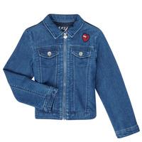 Odjeća Djevojčica Traper jakne Ikks XR40052 Blue