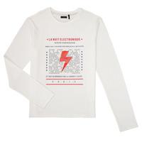 Odjeća Dječak  Majice dugih rukava Ikks XR10023 Bijela