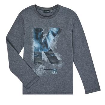 Odjeća Dječak  Majice dugih rukava Ikks XR10203 Siva