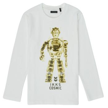 Odjeća Dječak  Majice dugih rukava Ikks XR10233 Bijela