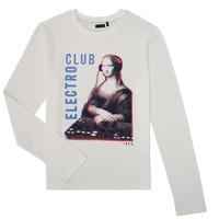 Odjeća Dječak  Majice dugih rukava Ikks XR10333 Bijela