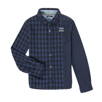 Odjeća Dječak  Košulje dugih rukava Ikks XR12123 Blue