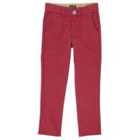 Odjeća Dječak  Hlače s pet džepova Ikks XR22093 Red