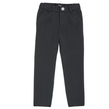 Odjeća Dječak  Hlače s pet džepova Ikks XR23023 Crna
