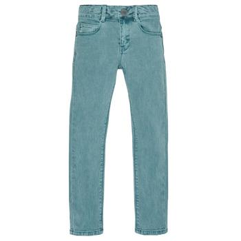 Odjeća Dječak  Slim traperice Ikks XR29013 Zelena