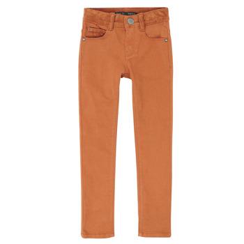 Odjeća Dječak  Slim traperice Ikks XR29013 Smeđa