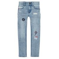 Odjeća Dječak  Slim traperice Ikks XR29053 Blue