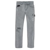 Odjeća Dječak  Slim traperice Ikks XR29123 Siva