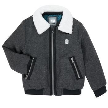 Odjeća Dječak  Kratke jakne Ikks XR40083 Siva