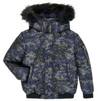 Odjeća Dječak  Pernate jakne Ikks XR41133 Blue