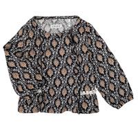 Odjeća Djevojčica Košulje i bluze Ikks XR12020 Crna