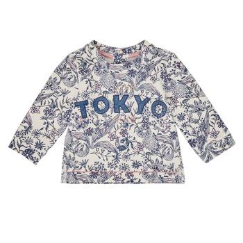 Odjeća Djevojčica Sportske majice Ikks XR15020 Bijela
