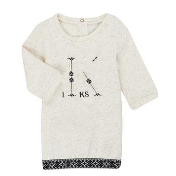 Odjeća Djevojčica Kratke haljine Ikks XR30180 Bež