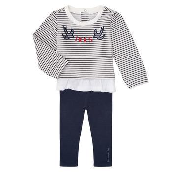 Odjeća Djevojčica Dječji kompleti Ikks XR36030 Bijela