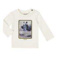 Odjeća Dječak  Majice dugih rukava Ikks XR10101 Bijela