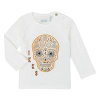 Odjeća Dječak  Majice dugih rukava Ikks XR10141 Bijela