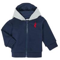 Odjeća Dječak  Veste i kardigani Ikks XR17001 Blue