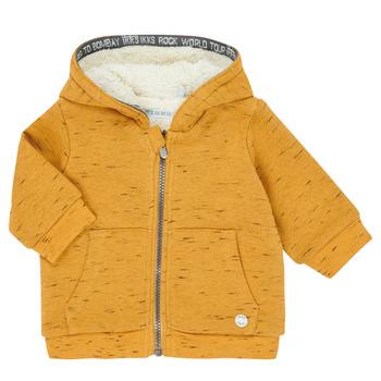 Odjeća Dječak  Veste i kardigani Ikks XR17031 Žuta