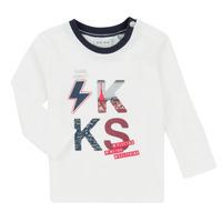 Odjeća Dječak  Dječji kompleti Ikks XR36001 Bijela