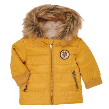 Odjeća Dječak  Pernate jakne Ikks XR41021 Žuta