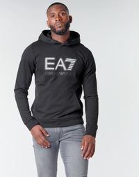 Odjeća Muškarci  Sportske majice Emporio Armani EA7 TRAIN VISIBILITY M HOODIE RN COFT Crna