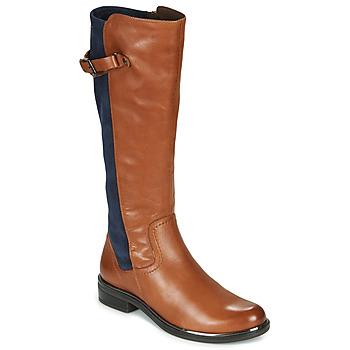 Obuća Žene  Čizme za grad Caprice 25504-387 Boja konjaka / Blue