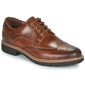 Obuća Muškarci  Derby cipele Clarks BATCOMBE WING Camel