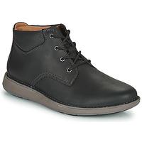 Obuća Muškarci  Derby cipele Clarks UN LARVIK TOP2 Crna