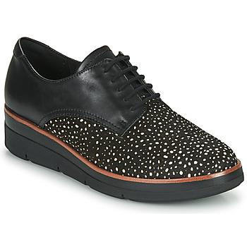 Obuća Žene  Derby cipele Clarks SHAYLIN LACE Crna