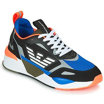 Obuća Muškarci  Niske tenisice Emporio Armani EA7 XK165 Crna / Blue / Narančasta