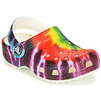 Obuća Djeca Klompe Crocs CLASSIC TIE DYE GRAPHIC CLOG K Multicolour