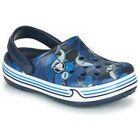 Obuća Dječak  Klompe Crocs CROCBAND SHARK CLOG PS Blue