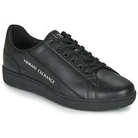 Obuća Muškarci  Niske tenisice Armani Exchange XV262-XUX082 Crna