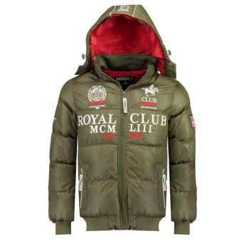 Odjeća Dječak  Pernate jakne Geographical Norway AVALANCHE BOY Kaki