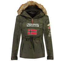 Odjeća Dječak  Parke Geographical Norway BARMAN BOY Kaki