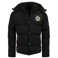 Odjeća Dječak  Pernate jakne Geographical Norway VERVEINE BOY Crna