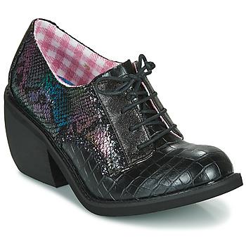 Obuća Žene  Derby cipele Irregular Choice TIPPLE Crna