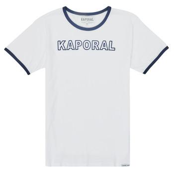 Odjeća Dječak  Majice kratkih rukava Kaporal ONYX Bijela