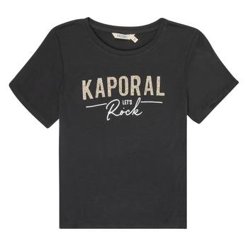 Odjeća Djevojčica Majice kratkih rukava Kaporal MAPIK Crna