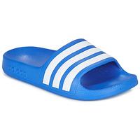 Obuća Dječak  Sportske natikače adidas Performance ADILETTE AQUA K Blue / Bijela