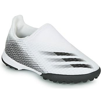 Obuća Djeca Nogomet adidas Performance X GHOSTED.3 LL TF J Bijela