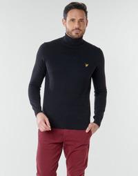 Odjeća Muškarci  Puloveri Lyle & Scott KN1020V Crna