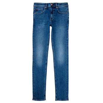 Odjeća Dječak  Skinny traperice Teddy Smith FLASH Blue