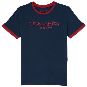 Odjeća Dječak  Majice kratkih rukava Teddy Smith TICLASS 3 Blue