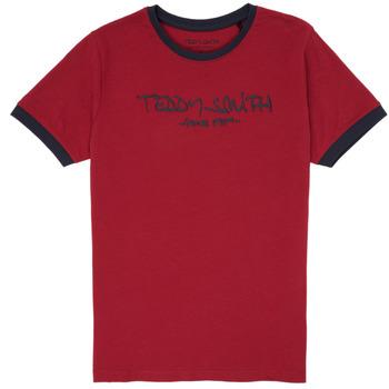 Odjeća Dječak  Majice kratkih rukava Teddy Smith TICLASS 3 Red